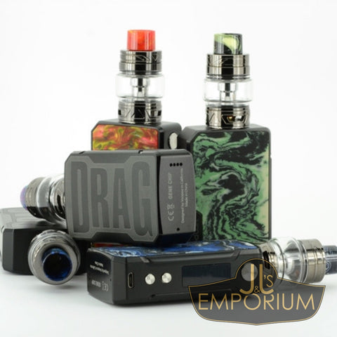 Drag Mini 117W Kit (Includes UForce T2 Sub-ohm Tank)