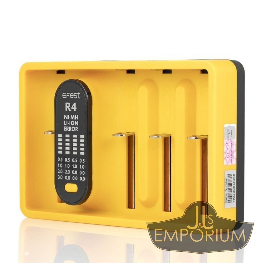 Efest iMate R4 Battery Charger (Four Bay)