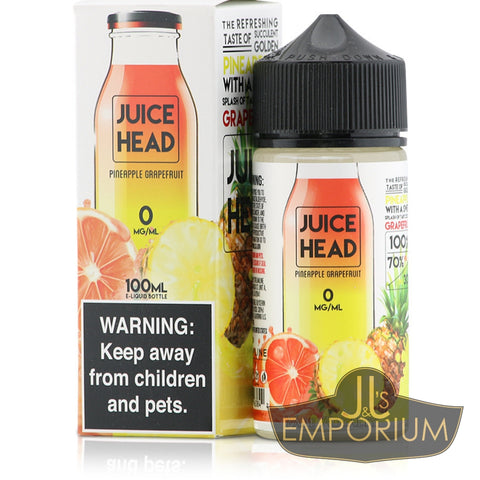 Juice Head - Pineapple Grapefruit (100mls)