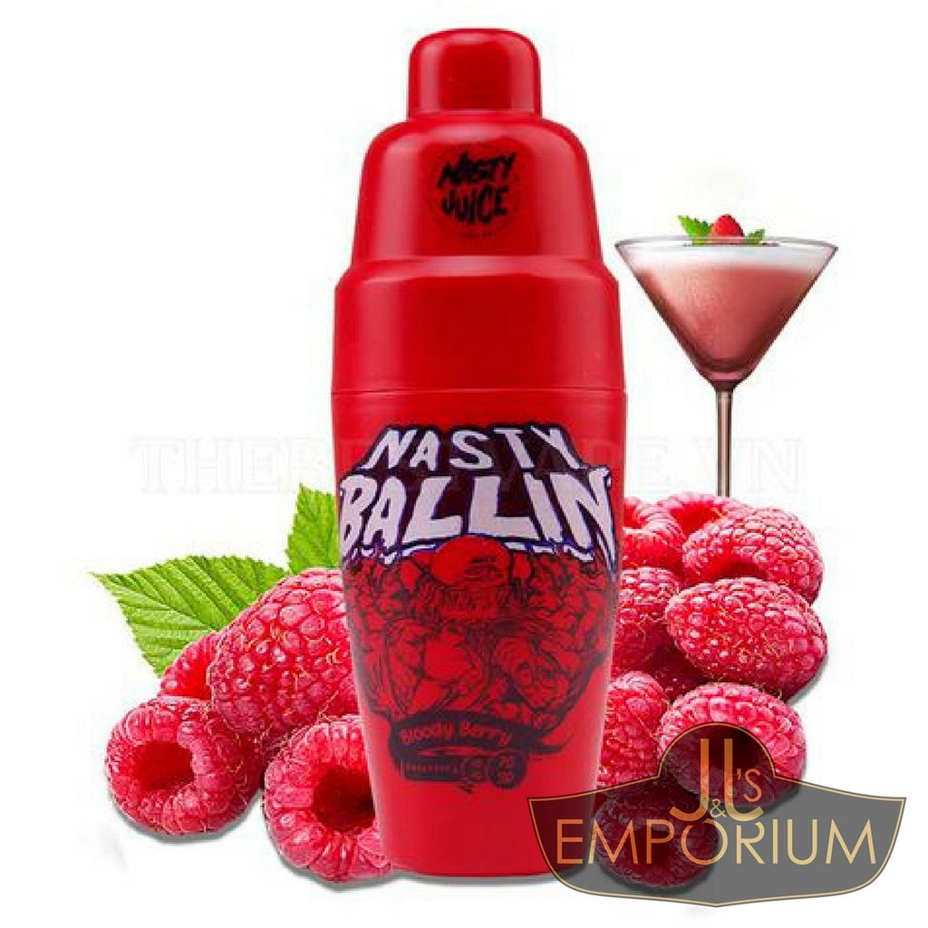 Nasty Ballin - Bloody Berry (60mls)