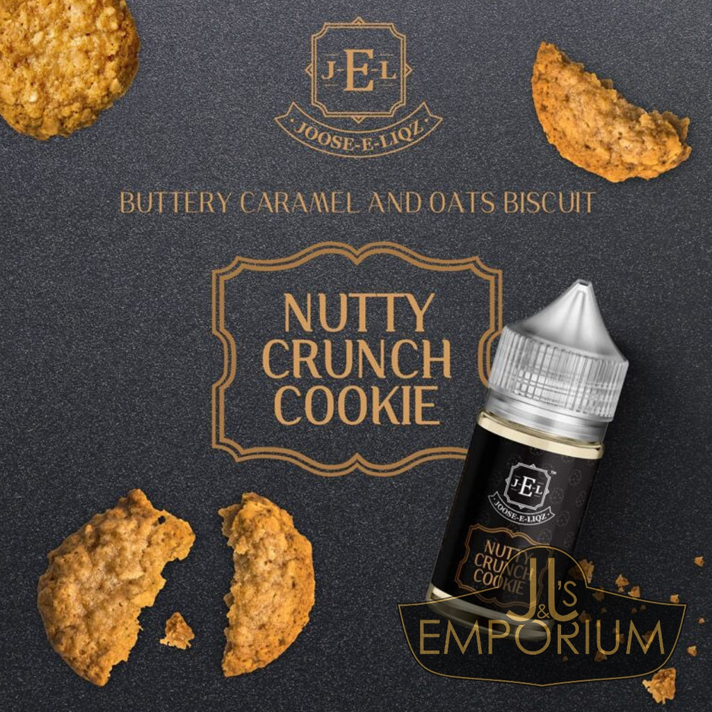 Joose-E-Liqz - Nutty Crunch Cookie (30mls)