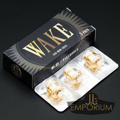 Wake Tank Sub-Ohm Replacement Coils (RTA compatible)