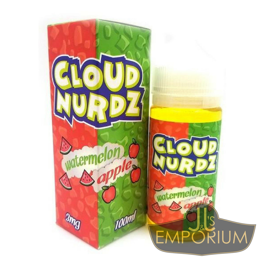 Cloud Nurdz - Watermelon Apple (100mls)