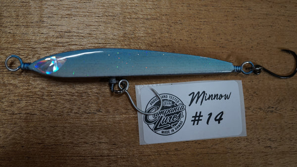 "Floating Minnow 4.25"" 13g-14.5g Reference #14"