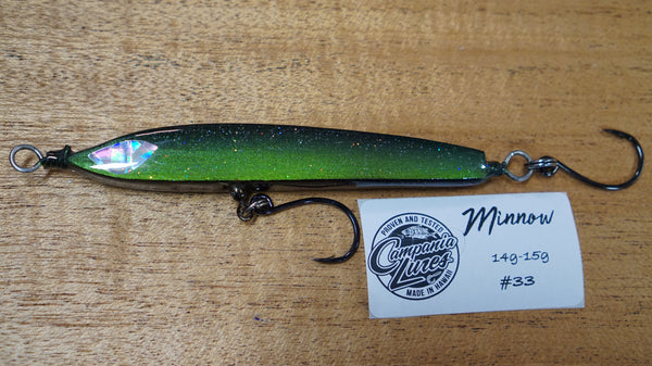 "Floating Minnow 4.25"" 14g-15g #33"