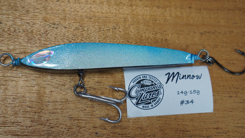 "Floating Minnow 4.25"" 14g-15g #34"