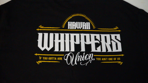 Whippers Black Marquee Cotton Shirts.