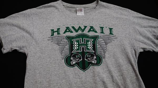 UH (Wings) Football Logo. ID# 827