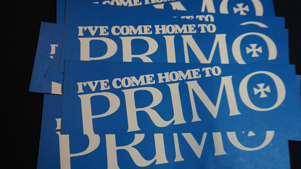 Deadstock 60's Primo Bumper Sticker.