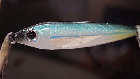 120g Opelu Jig with Metallic Fin
