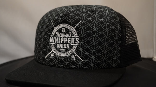 Whippers Geometric. Hawaii Whippers Union Trucker Snapback.