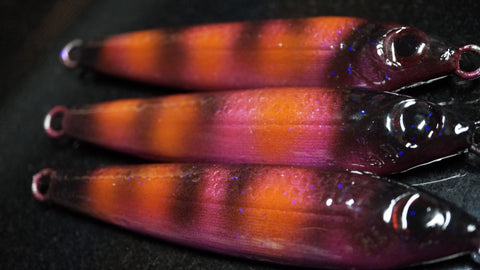 Moano 120g undressed Jigging Lure with UV.