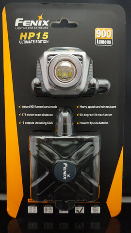 Fenix HP15UE (HP15 UE) Ultimate Edition 900 Lumens