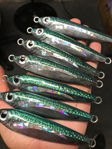 Opelu Prizm 120g undressed Jigging Lure.