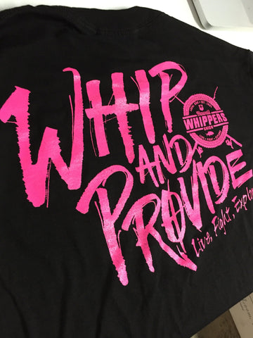 HWU Whip and Provide T-Shirt