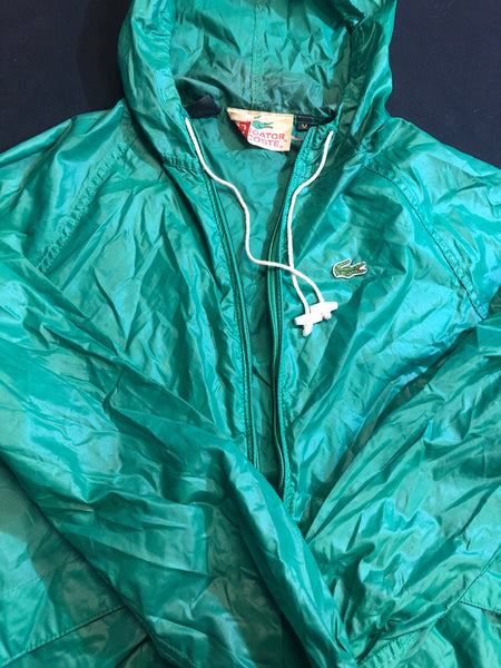 Retro 80's Alligator Lacoste Windbreaker.