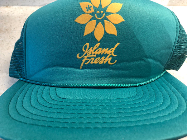 Late 90's Retro Island Fresh Trucker.