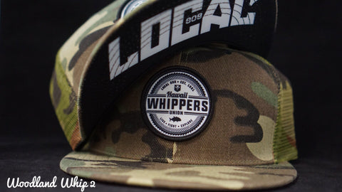 Local808 Woodland Whip 2 Snapback