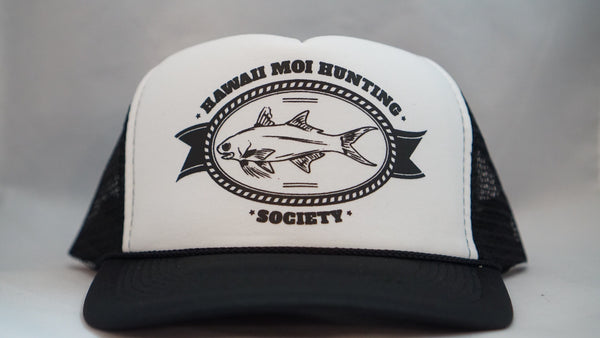 Hawaii Moi Hunting Society Foam Trucker Hats.