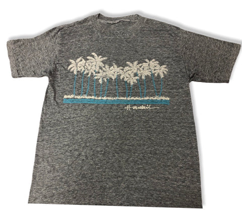 80's Single stitch Hawaii Heather Grey.