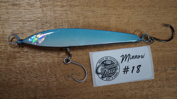 "Floating Minnow 4.25"" 13g-14.5g Reference #18"