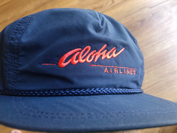Retro Aloha Airlines Clasp back.