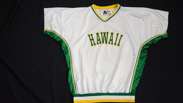 80's UH Men's Basketball Warm up Jersey. ID #836