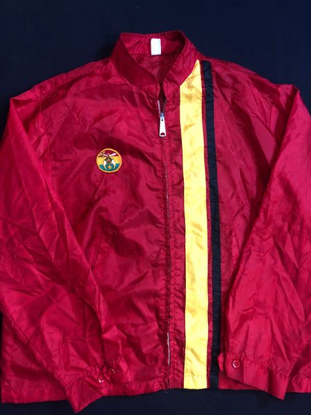 Retro 70's Shriner Windbreaker.