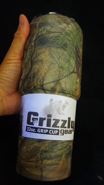 Grizzly 32oz Grip Cup RealTree XTRA design