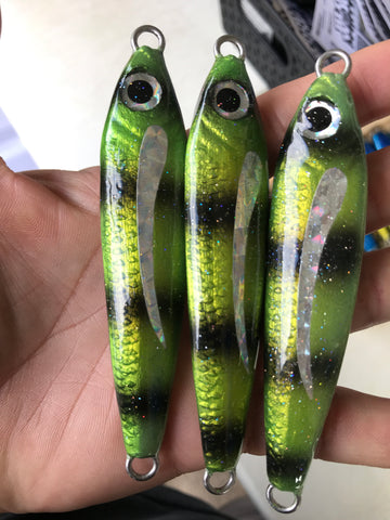 Mamo 120g with Prizm Wing. Undressed Jigging Lure