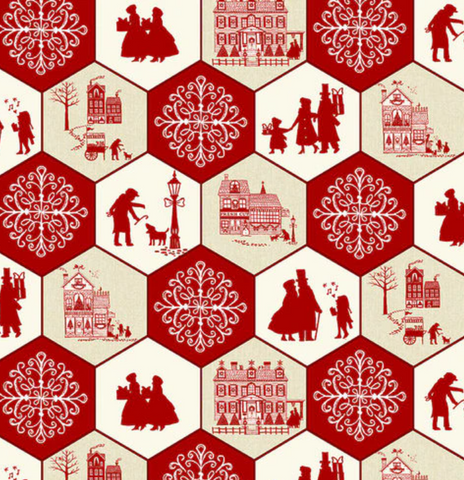Home for Christmas by Studio E- hexagons