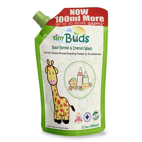 Tiny Buds Natural Baby Bottle & Utensil Wash