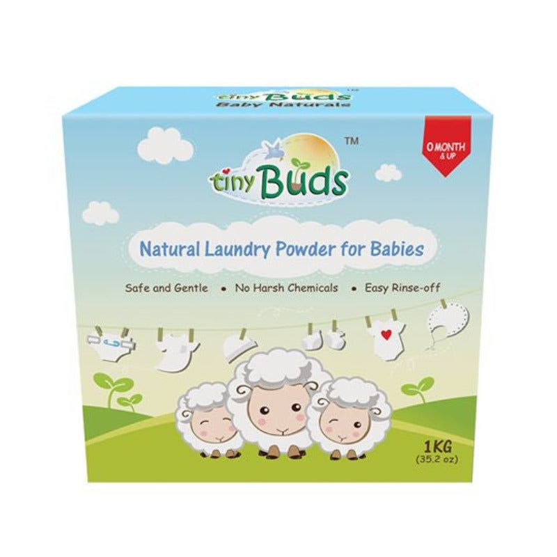 Tiny Buds Natural Laundry Powder for Babies