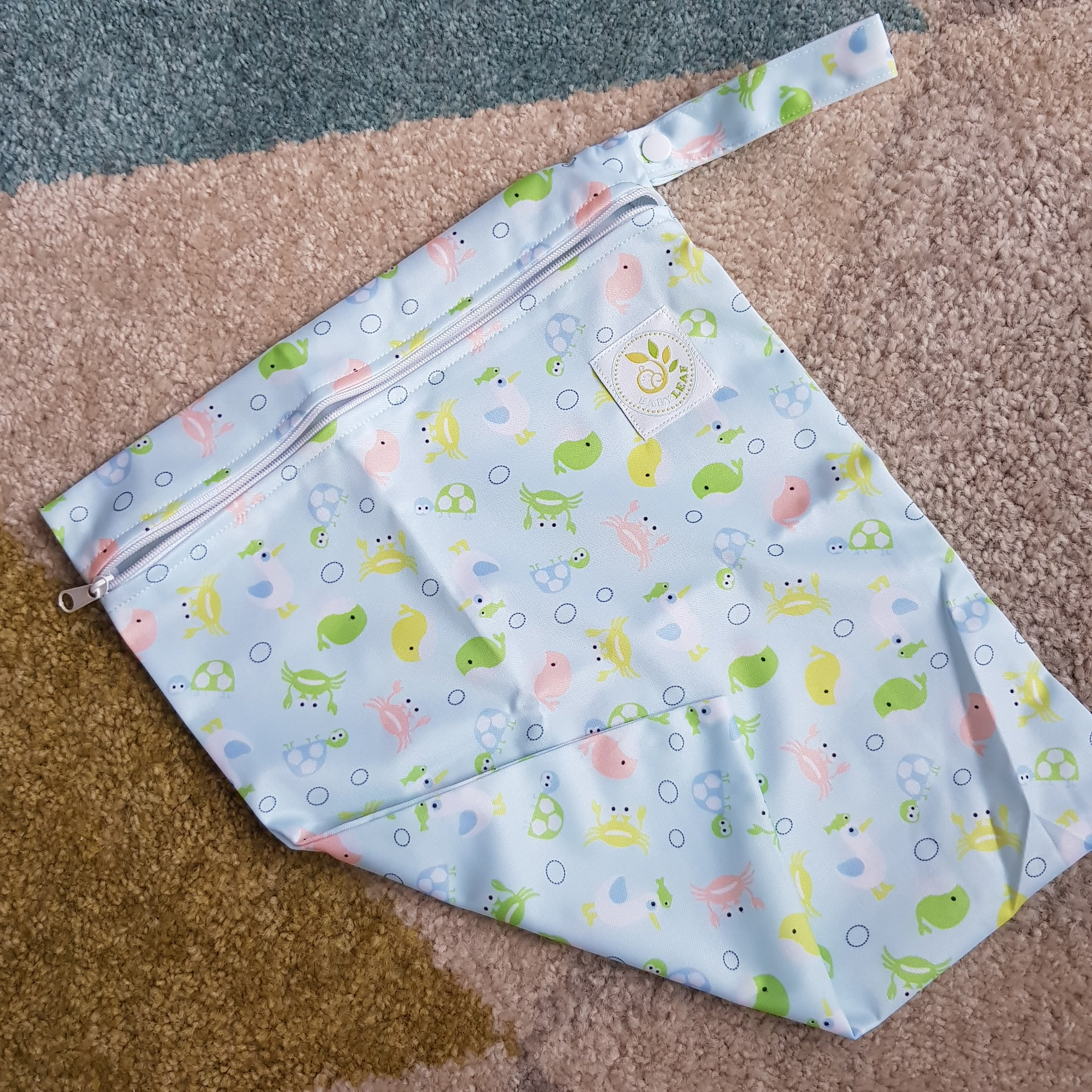 Baby Leaf Wet Bag