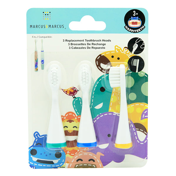 Marcus & Marcus 3 Replacement Toothbrush Heads