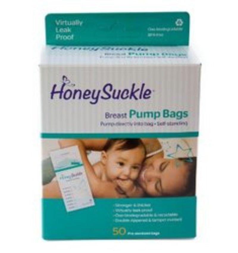 HoneySuckle Breast Pump Bags 6oz. 25s
