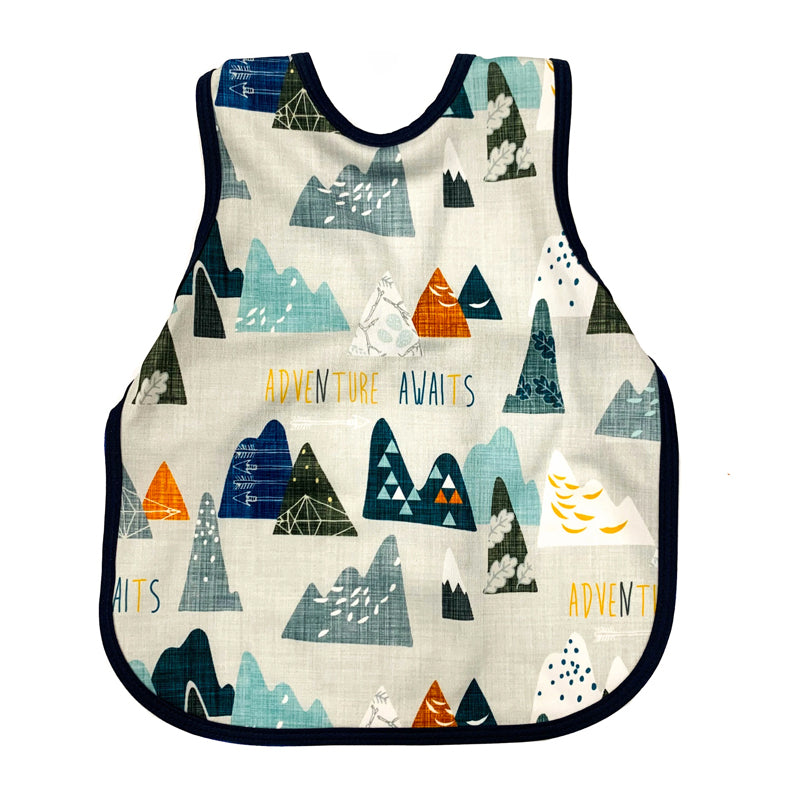 Bapron Bib and Apron for Toddler (6m to 3T)