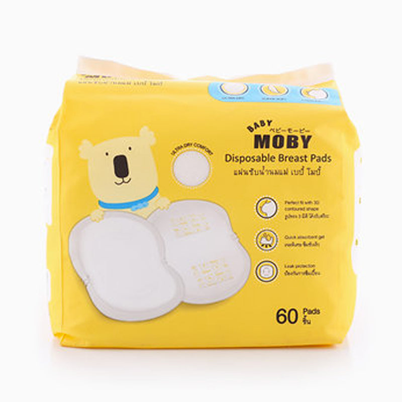 Baby Moby Disposable Breast Pads 60counts