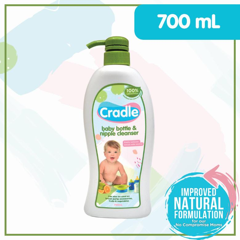 Cradle Baby Bottle and Nipple Cleanser