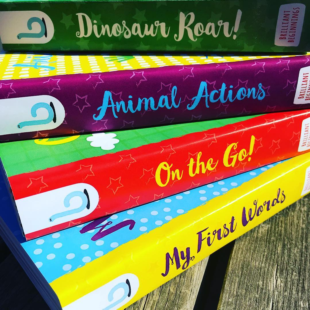 Brilliant Beginnings Board Book - Animal Actions