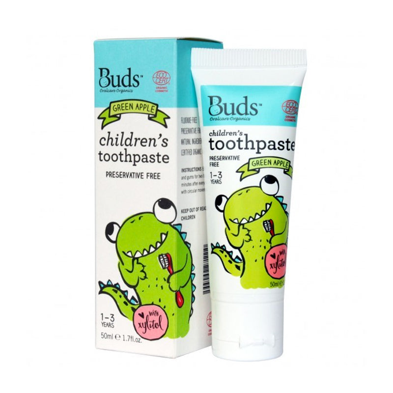 Buds Baby Children Toothpaste with Xylitol 1-3 years