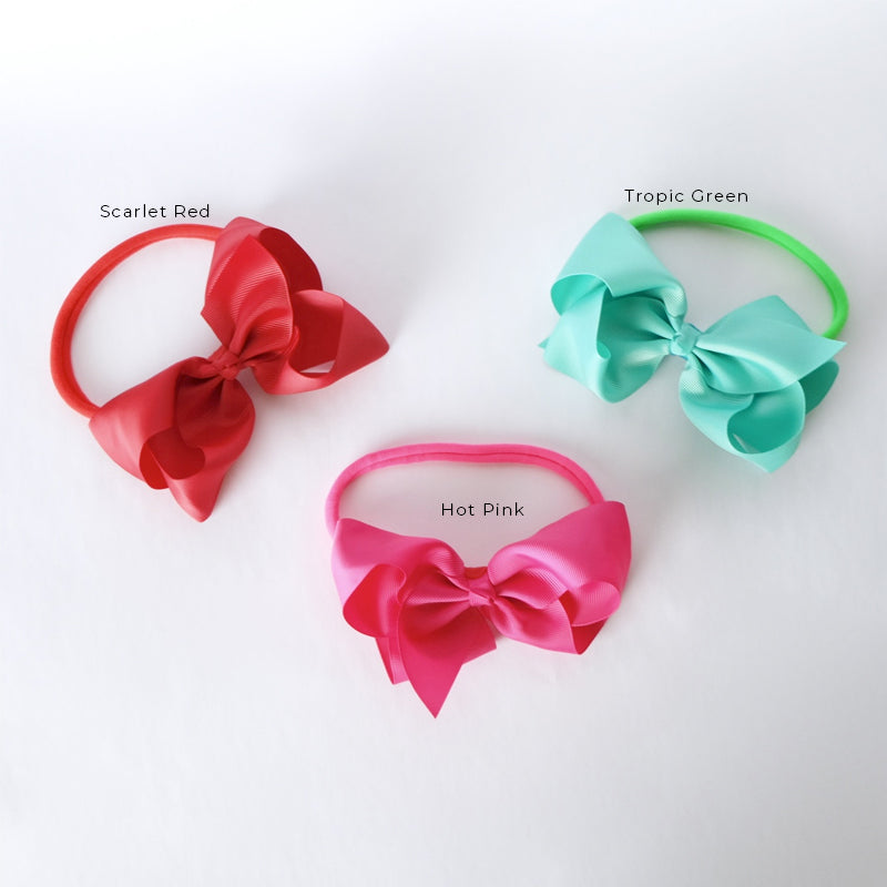 Style Me Little Big Bold Bow Headband - SS 2019 | One Sized Elastic