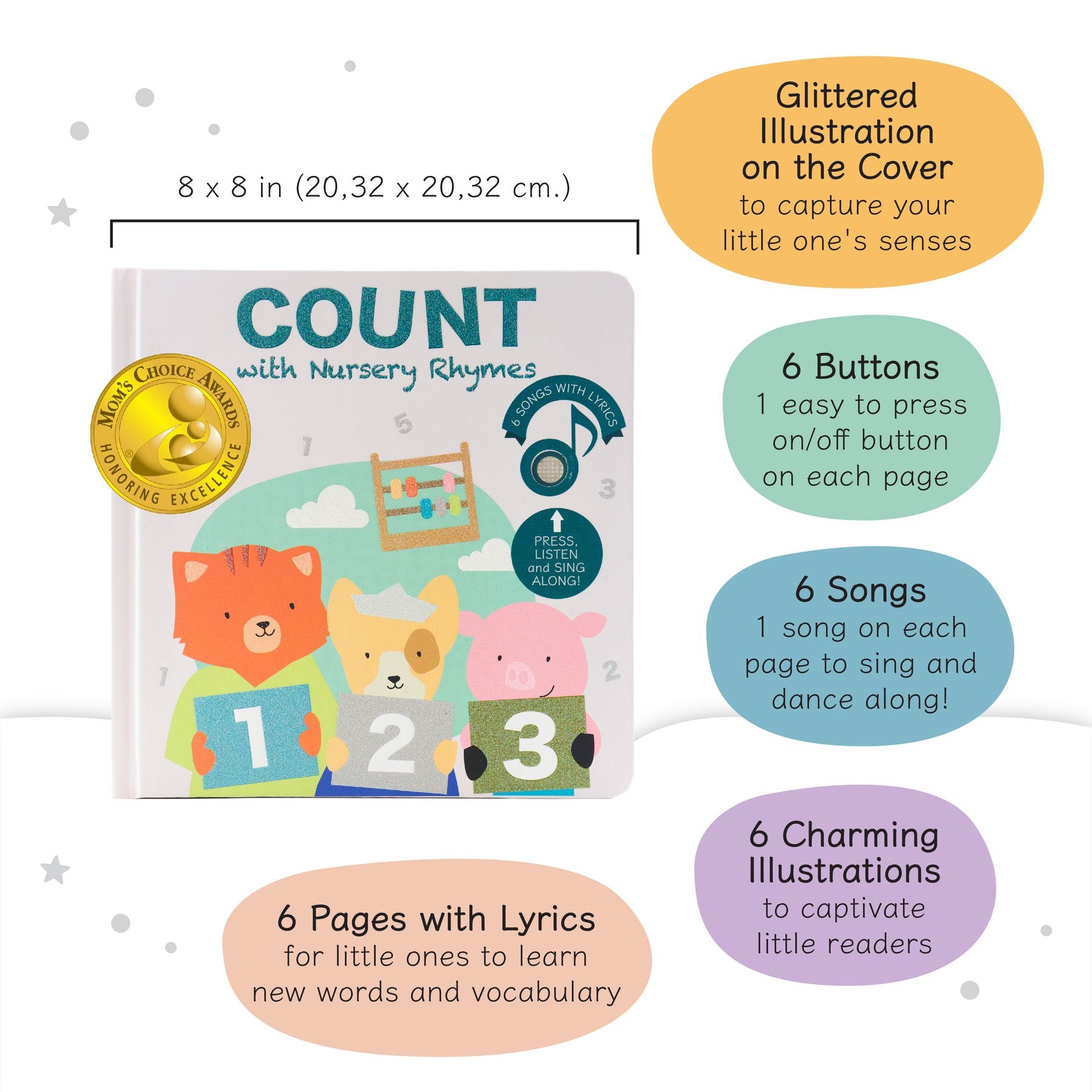 Cali's Book Sing Count with Nursery Rhymes