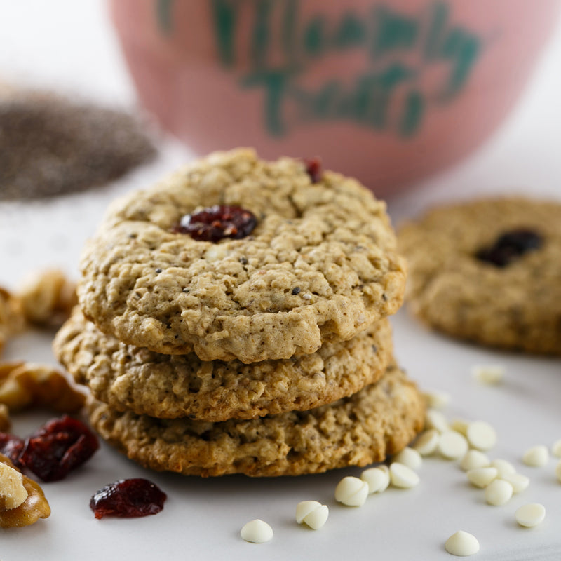 Mommy Treats Sugarfree Super Momma Cookies | Cranberry Walnut with White Chocolate | Prenatal