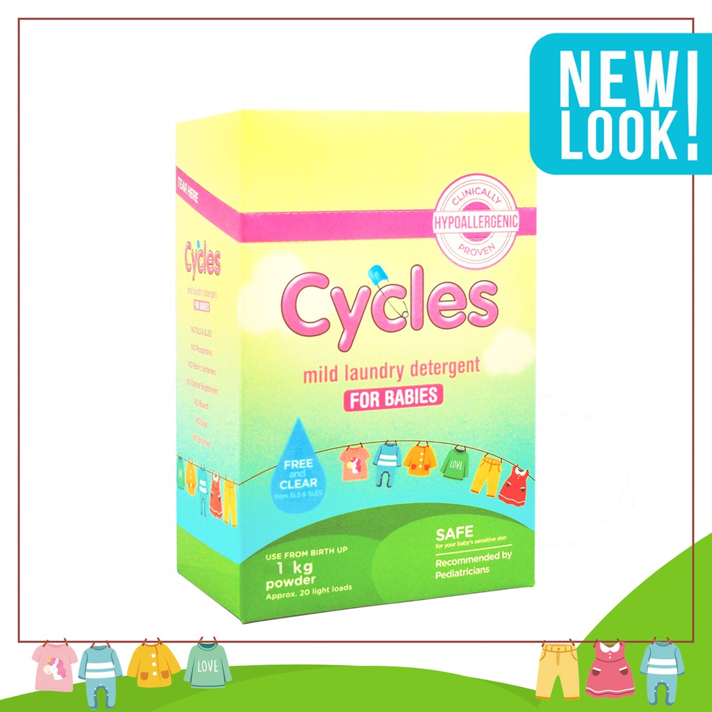 Cycles Mild Laundry Detergent Powder