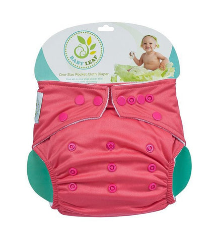 Cherry Rock One-Size Cloth Diapers