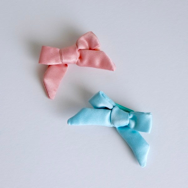Style Me Little Classic Mini Bow Set of 2 | Elastic | 3-6 Months