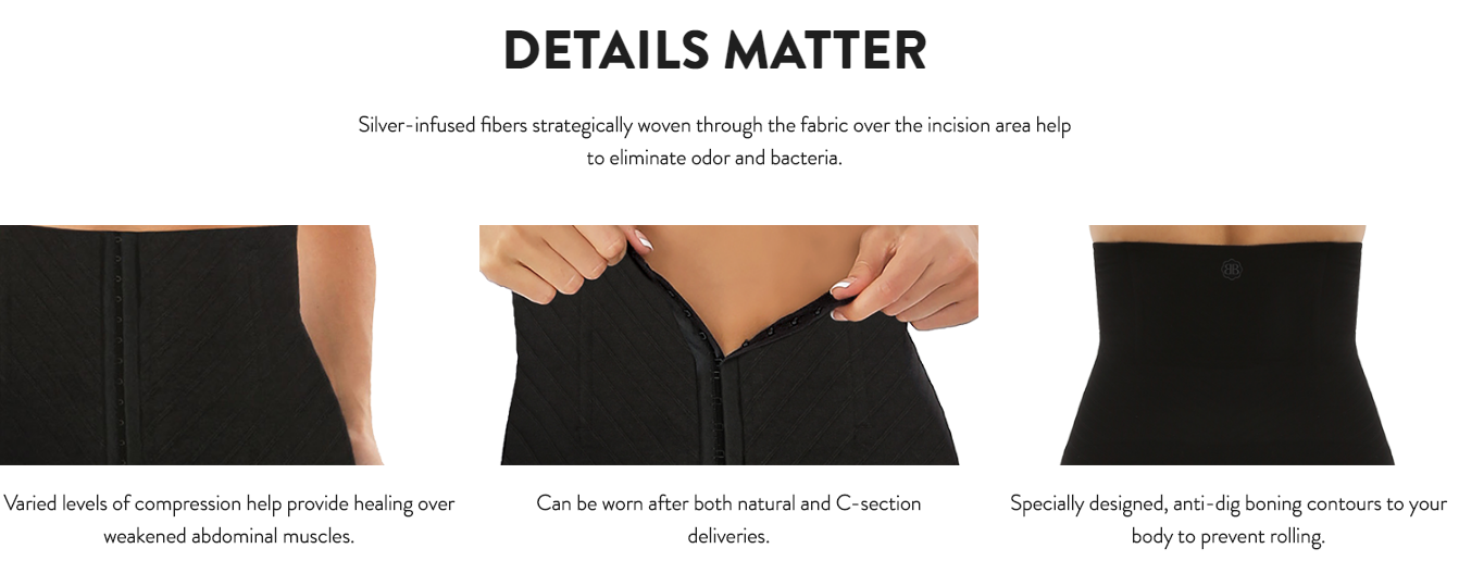 Belly Bandit C-Section Recovery Undies - The Nest ...