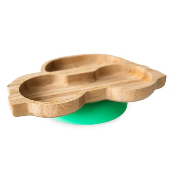 Eco Rascals Bamboo Plate - Car