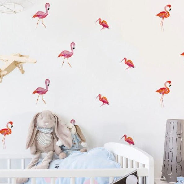 Juju Nursery Wall Decals Nursery Stickers - Flamingo
